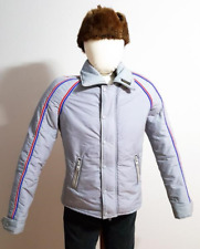 VINTAGE INNSBRUCK AUSTRIAN STYLED SKI JACKET AWESOME GRAY SIZE 40 MADE IN CANADA