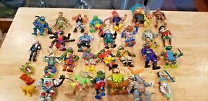 Lot of early 1990's TMNT Teenage Mutant Ninja Turtles action figures & others