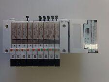 SMC EX120-STA1-X1 Controller WITH/9 Solenoid Valves