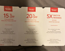 Office Depot OfficeMax Discount Coupon- expire 11/30/20