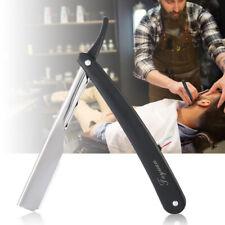 Hot Stainless Steel Straight Edge Men Razor Blades Barber Folding Shaving Knife