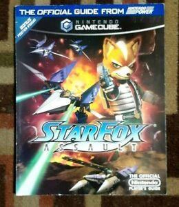 Star Fox Assault Gamecube Nintendo Power Official Strategy Game Guide