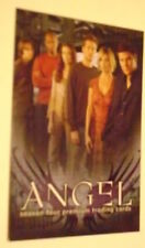 RARE MINT PROMO CARD ANGEL SEASON FOUR A4-1 INKWORKS