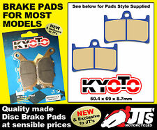 FRONT DISC PADS BRAKE PADS YAMAHA XP500 T-Max (ABS) (08 09 10 11) TMax