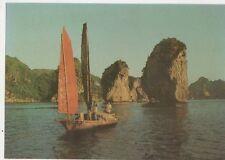 Ha Long Ba Ham Islet Vietnam Postcard 073a