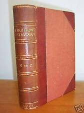 1904-5 Leighton Catalog of Books Manuscripts & Bindings
