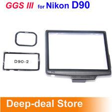 GGS III LCD Screen Protector glass f Nikon D90