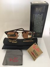 *Rare* New Vintage Ray Ban Bausch & Lomb Chromax Clubmaster W2052 Mock Tortoise