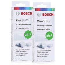 Bosch VeroSeries TCZ8001 Reinigungstabletten 2in1 - 10 Tabletten (2er Pack)