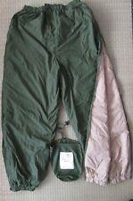 "Genuine British Army reversible softie trousers 32-36"" waist,"