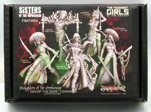 Raging Heroes 00378 Daughters of the Orphanage Day of the Dead Command (Fantasy)