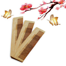 Natural Bamboo Hair Brush Care Massager Wood Massage Comb Beauty Tool LH