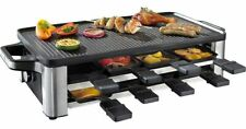 WMF LONO Raclette Raclette 8 pans Stainless steel, black,free ship Worldwide