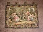 Vintage English Tapestry- Pastoral Scene, Great Condition