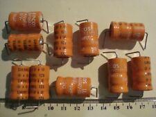10 Kondensatoren, Elkos, Siemens/Epcos, Sikorel 470uF 35V, axial, neu