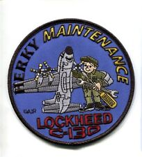 LOCKHEED C-130 HERCULES MAINTENANCE USAF US NAVY USMC Squadron Crew Patch