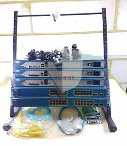 CISCO CCNA CCNP LAB KIT 2801 ROUTER 3560 POE SWITCH LAYER 3 LATEST IOS 15.