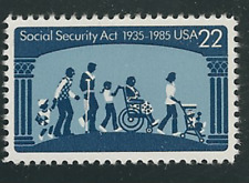 Scott # 2153...22 Cent...  Social Security Act ... 20 Stamps