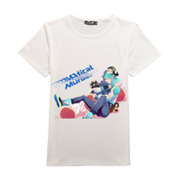 Anime DRAMAtical Murder Short Sleeve T-shirt DMMD Noiz Cosplay Tee Tops M-3XL
