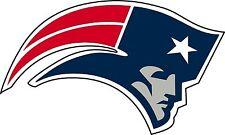 "New England Patriots NFL Football wall decor sticker Large vinyl decal 12""x 7"""