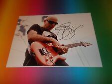 Joe Satriani Guitar signed signiert autograph  Autogramm auf 20x30 Foto in pers.