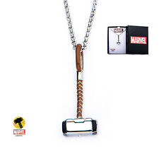 OFFICIAL MARVEL COMICS: MIGHTY THOR'S HAMMER SMALL PENDANT ON CHAIN NECKLACE