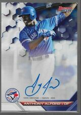 2016 Bowmans Best Auto Anthony Alford B16-AA Jays