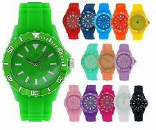 Sports Watch Reflex Silicone Strap Mens Ladies Sport Wrist Watches Many Colours