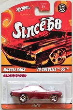HOT WHEELS SINCE 68 MUSCLE CARS '70 CHEVELLE SS RED