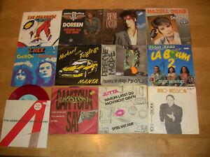 24 Singles siehe Fotos - Depeche Mode - Peter Maffay - T Rex usw...