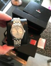 Tudor Stainless 31MM Silver dial Glamour Box & Papers Unworn 53000 Ref. Unisex