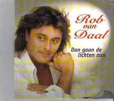 Rob Van Daal-Dan Gaan De Lichten Aan cd single
