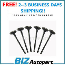 OEM ENGINE EXHAUST VALVE for 11-15 HYUNDAI 3.3L 3.5L 3.8L 22212-3C800 6PCS