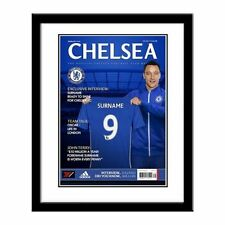 Chelsea Autographed Football Prints