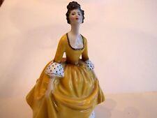 "Royal Doulton 7 1/2 inch Figurine "" Coralie "" Hn 2307 1963, yellow dress"