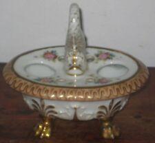 Paris porcelaine encre Stank Dolphin Poignée Paw Feet Cir début à mi 19TH siècle