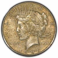 1926-S $1 Peace Dollar - High-Grade - Better Date - Original Toning - SKU-D1580
