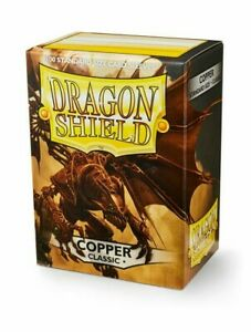 Dragon Shield Classic Copper 100 Standard Size (63 mm x 88 mm) Card Sleeves