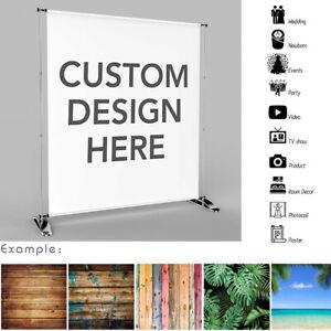 Custom Personalised Photo Image Photography Studio Birthday Backdrops Cloth