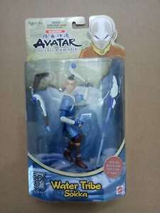 """Avatar The Last Airbender water tribe sokka  action figure 6"""" old"""