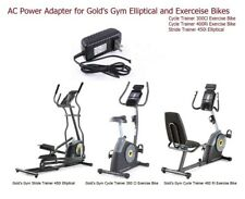 AC Power Supply Adapter for Gold's Gym Cycle Trainer 300Ci ,400Ri Excerise Bikes