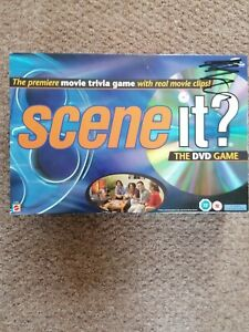 Scene It? Movie Edition The DVD Game, board game, movie clips