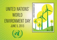 Ghana - UN World Environment Day Stamp- Souvenir Sheet MNH
