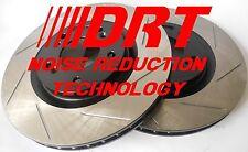 Fits G37 Coupe Base Slotted Brake Rotors Noise Reduction Technology F+R Set