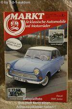 Oldtimer Markt 4/86 DKW Junior Peugeot 404 Saab 96