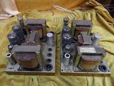 Emg DR24 KT66 tube monoblocks, vintage valve amplificateurs plus rares que rare, tl12.1