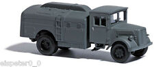 Busch 80060, Opel Tank Truck, H0 Finshed Model 1:87, Military Edition