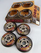 Cross Fit X-360 rollerblade Hyper Wheels package of 4 NEVER USED  Alive-A-Thane