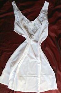 Vintage  Perlon Unterrock-kleid Gr. 52