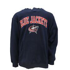 Columbus Blue Jackets Official NHL Hooded Sweatshirt Kangaroo Pocket New Tags